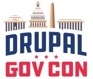Drupal GovCon logo