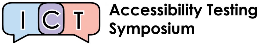 ICT Accessibility Testing Symposium logo